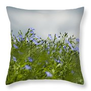 Linseed Throw Pillow