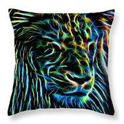 Lion - 1 Throw Pillow