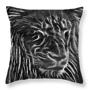 Lion - 2 Throw Pillow