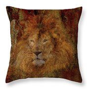 Lion Of Judah Throw Pillow