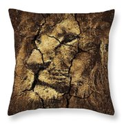 Lion -wall Art Throw Pillow