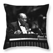 Lionel Hampton Throw Pillow