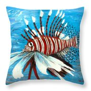 Lionfish IIi Throw Pillow