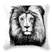 Lionking Throw Pillow