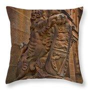 Lions Head Throw Pillow