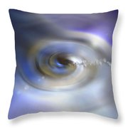 Liquid Eye Throw Pillow