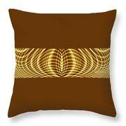 Liquid Gold 3 Throw Pillow