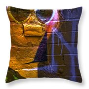 Liquid Lips  Throw Pillow