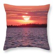 Liquid Sunshine Throw Pillow