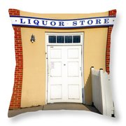 Liquor Store Throw Pillow