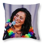 Lisa Lisa  Throw Pillow