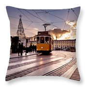 Lisbon Light Throw Pillow