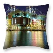 Lisbon Oceanarium Throw Pillow