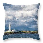 Lismore Lighthouse Throw Pillow