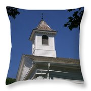 Listen For The Bell Throw Pillow