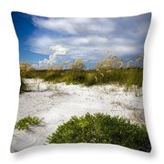Listen To The Silence Throw Pillow