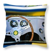 Lister Steering Wheel Throw Pillow