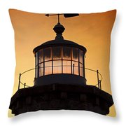 Lit House Throw Pillow