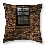 Lit Window Throw Pillow