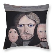 Lithium Throw Pillow