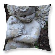 Little Angel Throw Pillow