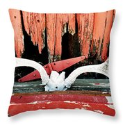 Little Antlers 2 Throw Pillow