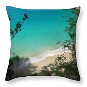 Little Bay Latitude Throw Pillow