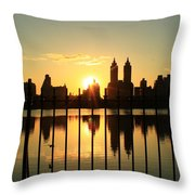 Little Bird In There Throw Pillow