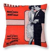 Little By Little Throw Pillow