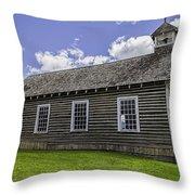 Little Church - World Mining Museum Throw Pillow