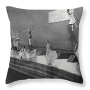 Little Composers II Throw Pillow