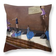 Little Composers IIi Throw Pillow