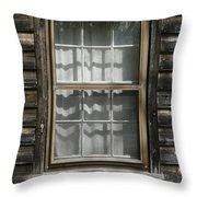 Little Cottage Window Throw Pillow