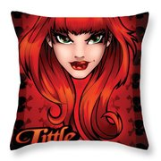 Little Devil Throw Pillow