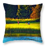 Little Dreamers Throw Pillow