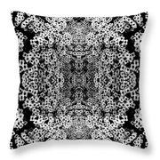 Little Flower Kaleidoscope Throw Pillow
