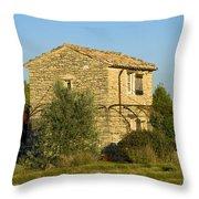 Little French Farmhouse Throw Pillow