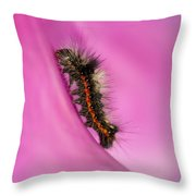 Little Furry Friend Throw Pillow