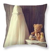 Little Girls Bedroom Throw Pillow
