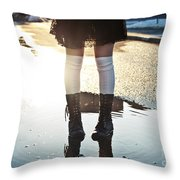 Little Glimpse Of Spring Throw Pillow