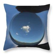 Little Heart Cloud Throw Pillow