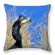 Little Hungry  Throw Pillow