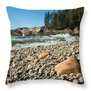Little Hunter's Beach  0009 Throw Pillow