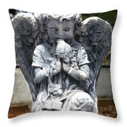 Little Kisses Throw Pillow