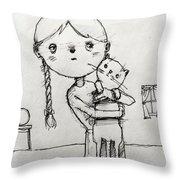 Little Love Throw Pillow