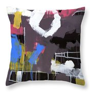 Little Lulu At The Circus Throw Pillow