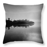 Little Manatee River Number 2 Throw Pillow