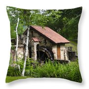 Little Mill Eastern State College Throw Pillow