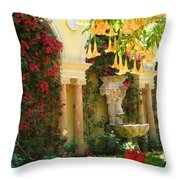 Little Paradise II Throw Pillow