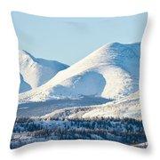 Little Peak Throw Pillow